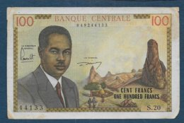 CAMEROUN - Billet 100 Francs  (1962 ) - Camerun