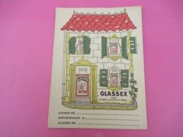 Protège-Cahier/Produit Ménager/ GLASSEX /Vitres-Glaces Et Email/Vers 1950 CAH226 - Wassen En Poetsen