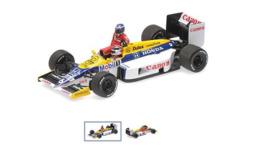 Williams Honda FW11 – Keke Rosberg Riding On Nelson Piquet – German GP 1986 #6 - Minichamps - Minichamps