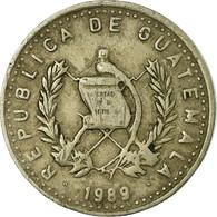 Monnaie, Guatemala, 5 Centavos, 1989, TTB, Copper-nickel, KM:276.4 - Guatemala