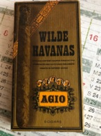 Boîte De Cigare Wilde Havanas AGIO (boite En Carton) - Boites à Tabac Vides