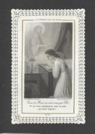 Themes Div-ref CC301- Images Religieuses - Image Religieuse - Image Pieuse - Canivet - Dentelle -benediction De Marie - Santini