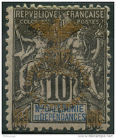 Nouvelle Caledonie (1903) N 72A * (charniere) - Nuevos