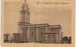 SCHAERBEEK  Eglise ST Suzanne. - Spoorwegen, Stations