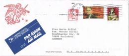 33833. Carta Aerea NORFOLK (Ne) 1993. Benedictine Mission House - Cartas