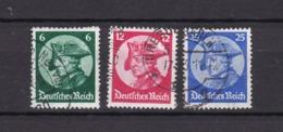 Deutsches Reich - 1933 - Michel Nr. 479/481  - Gest. - 30 Euro - Gebraucht