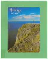 2004 FINLAND NORDKAPP POSTCARD WITH 1 STAMP TO ITALY - Finland