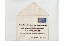 PTX 8/19- ENVELOPPE PAIX 90c  REPIQUAGE M.CHEF DU CONTENTIEUX S.T.C.R.P.  NEUVE AVEC COMPL.T TB (PLI NORMAL) - Entiers Postaux