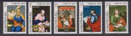 Luxembourg  1978 -  N°926/30 XX CARITAS 1978 -Peinture Sous Verre Du Musée D'Art Et D'Histoire Du Luxembourg - Ungebraucht