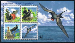 Bloc Sheet Oiseaux Fregates Birds Frigate  Neuf  MNH **  Christmas 2010 - Autres