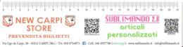 Segnalibro SUBLIMANDO 2.0 Articoli Personalizzati - NEW CARPI STORE Prevendita Biglietti - Segnalibri