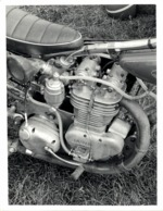 JAWA   16*12 Cm Moto MOTOCROSS MOTORCYCLE Douglas J Jackson Archive Of Motorcycles - Coches