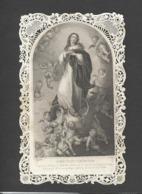 Themes Div-ref CC282- Images Religieuses - Image Religieuse - Image Pieuse - Canivet - Dentelle -priere De Saint Bernard - Santini