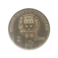 Medaille ,euro Des Villes , 2 Euro De LAON, La Cathédrale Notre Dame De Paris , 1998, 2 Scans, Frais Fr 2.25 E - Euros Des Villes
