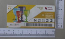 PORTUGAL - 2019 - LOTARIA POPULAR -  27ª -  2 SCANS  (Nº30726) - Loterijbiljetten