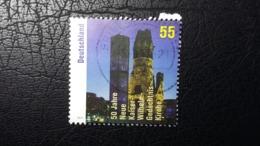Briefmarke Mit Darstellung Der Kaiser-Wilhelm-Gedächtniskirche (Berlin) - Kirchen U. Kathedralen