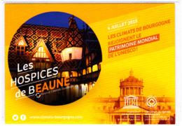 CP 21 Côte-d'Or, Hospices De Beaune, Les Climats De Bourgogne, Patrimoine Mondial De L'UNESCO, 2015 - Beaune