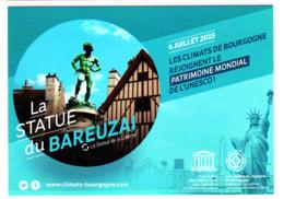 CP 21 Côte-d'Or, Dijon, Le Bareuzai Les Climats De Bourgogne, Patrimoine Mondial De L'UNESCO, 2015 - Dijon