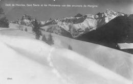 Dent De Morcles, Dent Favre Et Les Muverans Vus Des Environs De Morgins - VS Valais