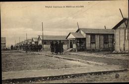Cp Mars Sur Allier Nièvre Frankreich, Hôpital Américain Barraques Et Régiment - Francia