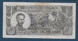 VIET NAM - Billet De 5 Dong - Viêt-Nam