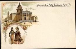 Lithographie Paris I, Pantheon, La Mode En 1840, Belle Jardiniere - Altri