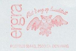 Meter Cut Netherlands 1989 Bird - Owl - Birds