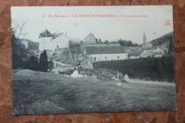 LA GRANDE VERRIERE (71) - VUE PANORAMIQUE - France
