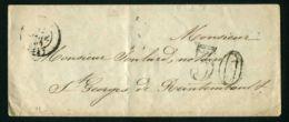 ENVELOPPE DE  1856 ?  A  DESTINATION  DE  SAINT-GEORGES-DE-REINTEMBAULT - Postmark Collection (Covers)