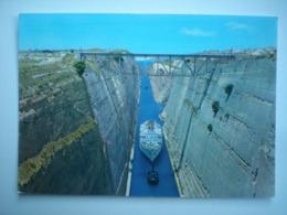 Grèce Greece  Ελλάδα Elláda Corinthe Canal Kanal - Grèce