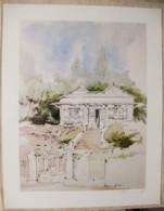 Ile De La Réunion. Francois HENNEQUET 1981 Les Cases -Espace. La Maison à La Montagne N° 26 - Autres Collections