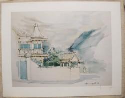 Ile De La Réunion. Francois HENNEQUET 1981 Les Cases -Espace. La Maison Rue Lucien Gasparin à St Denis N° 27 - Autres Collections