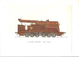 "Locomotive ""PETIET"" 1862 France - Stiche & Gravuren"