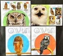 # Grenada 2015** Mi.7192-7201 Owls , MNH [17II;38-39] - Otros
