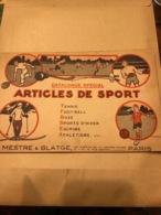 Catalogue D'articles De Sports De La Maison Mestre & Blatge - Sports & Tourisme