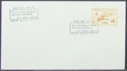 Timor - Cover 1972 Stamp Day Map Overprinted Camões Lusíadas Literature - Timor