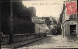 Cp Châtenay Malabry Hauts De Seine, Les Ruines De Chatenay - France