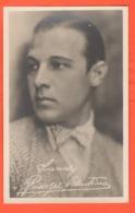 RODOLFO VALENTINO Attori Actors Cinema Foto Con Autografo - Artisti