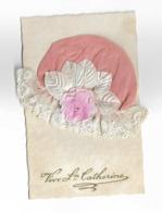 Cpa BONNET DE STE CATHERINE  ( Bonnet Rose ) - Sainte-Catherine