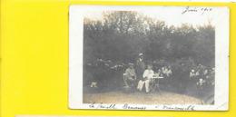 FRANCONVILLE Carte Photo Famille Demange 1910 () Val D'Oise (95) - Franconville