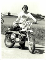 MONARK OF SWEDEN YNQUE EKEBERG 18*12 Cm Moto MOTOCROSS MOTORCYCLE Douglas J Jackson Archive Of Motorcycles - Cars