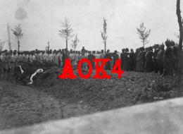 Westfront France Flandern Enterrement Beerdigung Cimetiere Militaire Allemand Soldatenfriedhof Krankenschwester - Oorlog 1914-18