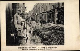 Cp Bressuire Deux Sèvres, Cyclone Du 13 Mai 197, Rue De La Huchette - Autres Communes