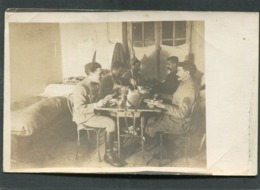 Carte Photo - Militaires, Janvier 1918 - Guerra 1914-18