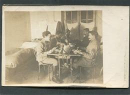 Carte Photo - Militaires, Janvier 1918 - Weltkrieg 1914-18