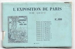 Exposition De 1900: Pochette ée Série Complète état Neuf + 4 Cartes D'une Autre Série - Exhibitions