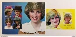 Gambia 2010**Mi.6373-76, Bl.799 Princess Diana , MNH [14;122] - Beroemde Vrouwen