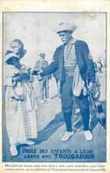 Belgique - La Panne - 78e Anniversaire De Troubadour - Obole Des Enfants à Leur Grand Ami Troubadour - De Panne