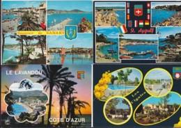 France -- Départements Différents (02) -- Multivues -- Lot De 80 Cartes - France