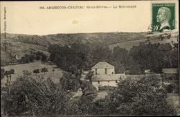 Cp Argenton Chateau Deux Sèvres, La Mécanique - Autres Communes